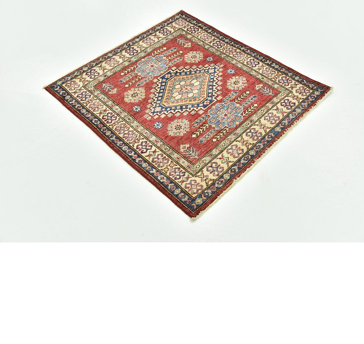90cm x 90cm Kazak Oriental Square Rug