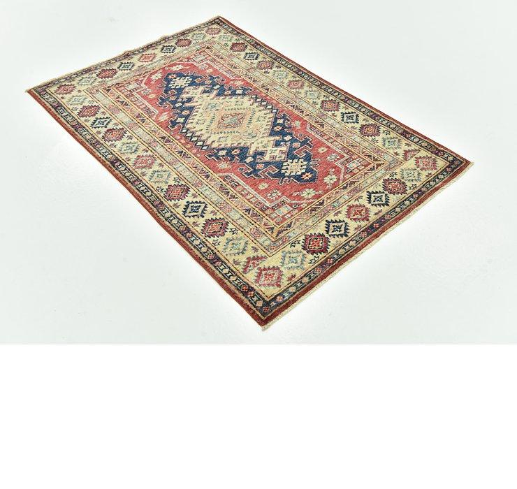 3' 2 x 4' 9 Kazak Oriental Rug