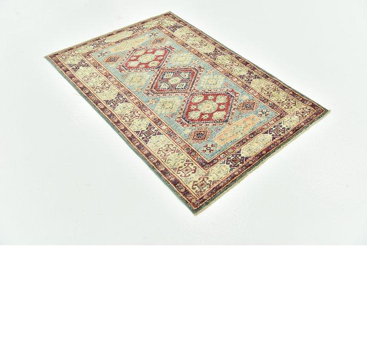 100cm x 142cm Kazak Oriental Rug