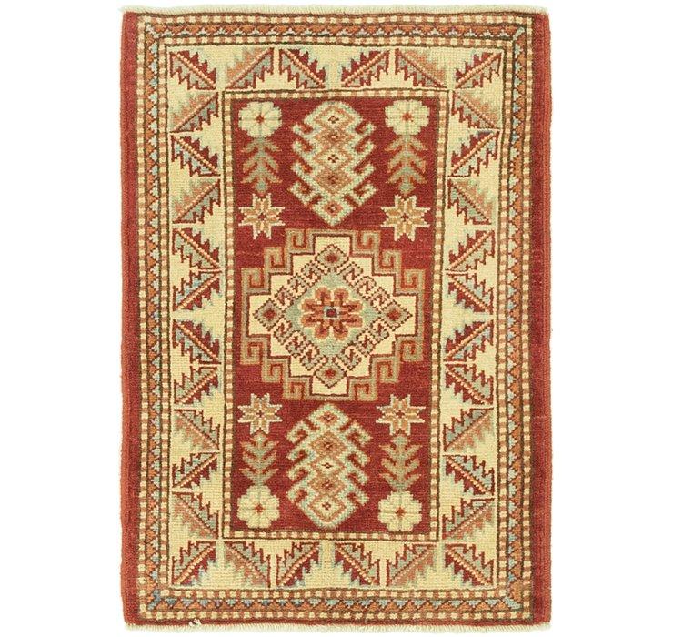 2' 1 x 3' Kazak Rug