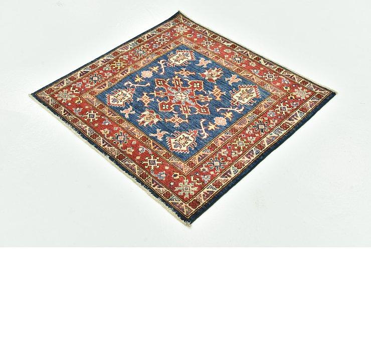 3' x 3' 1 Kazak Square Rug