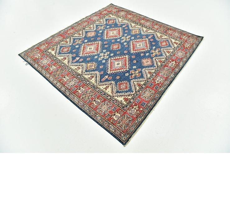 5' 10 x 6' 3 Kazak Oriental Square Rug