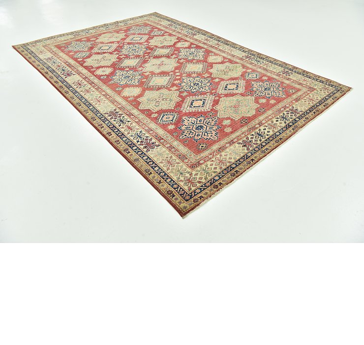 6' 7 x 9' 9 Kazak Oriental Rug