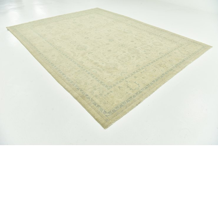 9' 1 x 11' 8 Over-Dyed Ziegler Rug