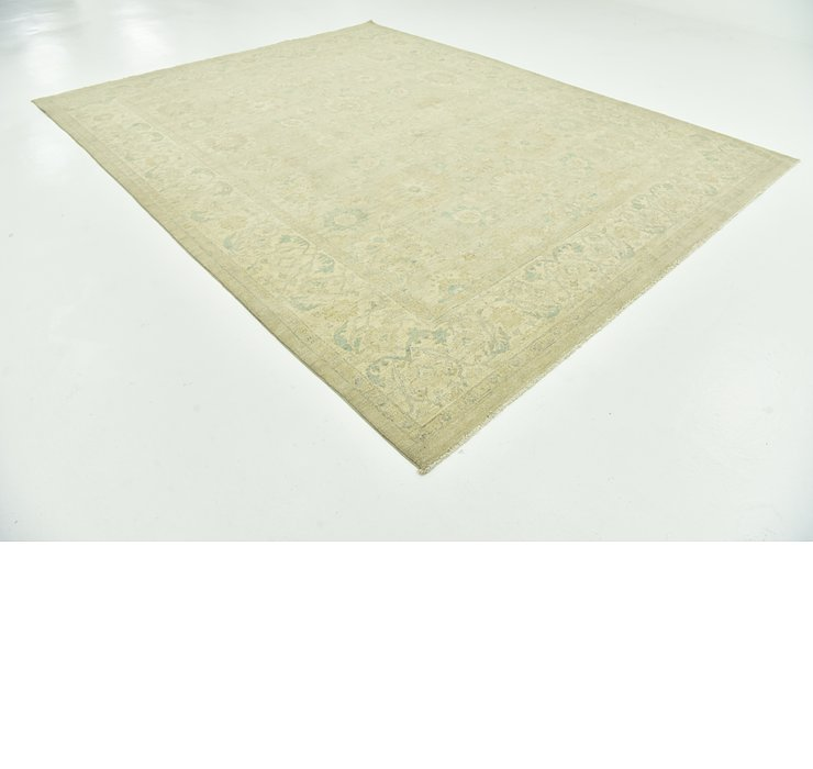 9' 1 x 11' 7 Over-Dyed Ziegler Rug
