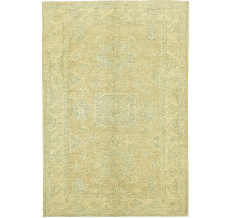 5' 11 x 8' 9 Over-Dyed Ziegler Rug