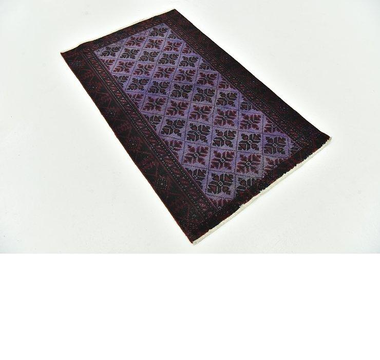 2' 11 x 4' 10 Ultra Vintage Persian Rug