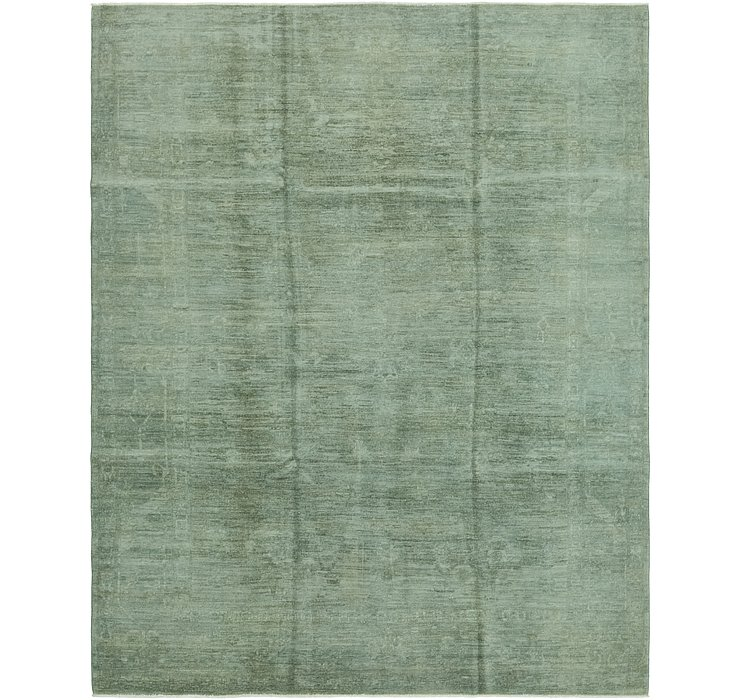 8' x 10' Over-Dyed Ziegler Rug