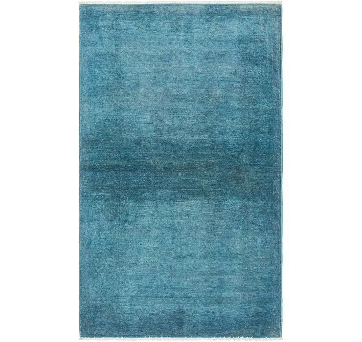 2' 10 x 4' 10 Over-Dyed Ziegler Rug