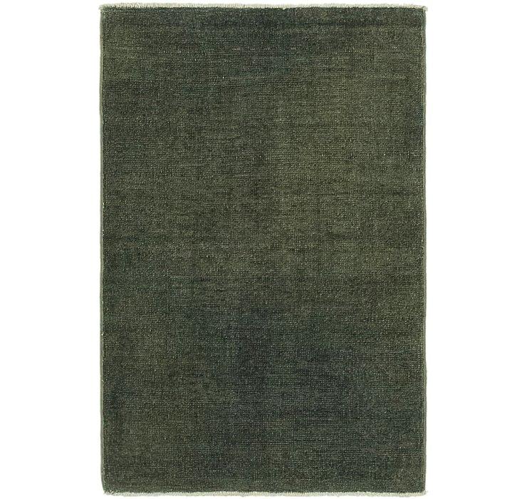 60cm x 97cm Over-Dyed Ziegler Rug