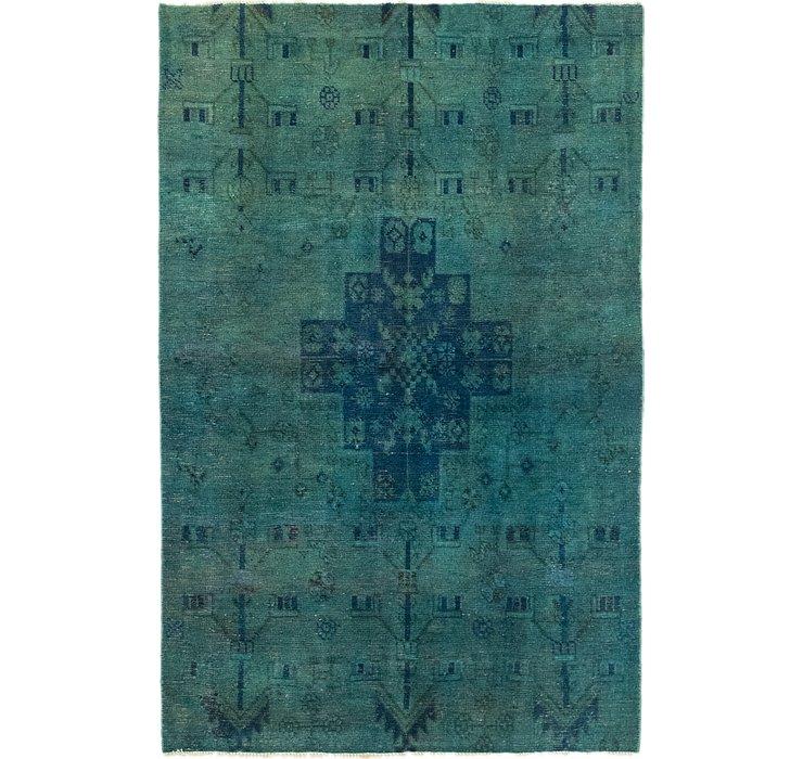 107cm x 163cm Ultra Vintage Persian Rug