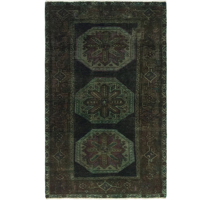 3' 9 x 6' 2 Ultra Vintage Persian Rug