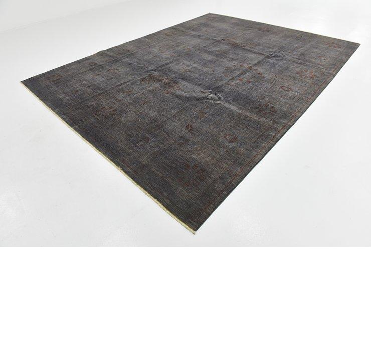8' 11 x 11' 9 Over-Dyed Ziegler Orien...
