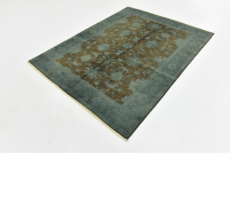 4' 10 x 6' 5 Over-Dyed Ziegler Rug