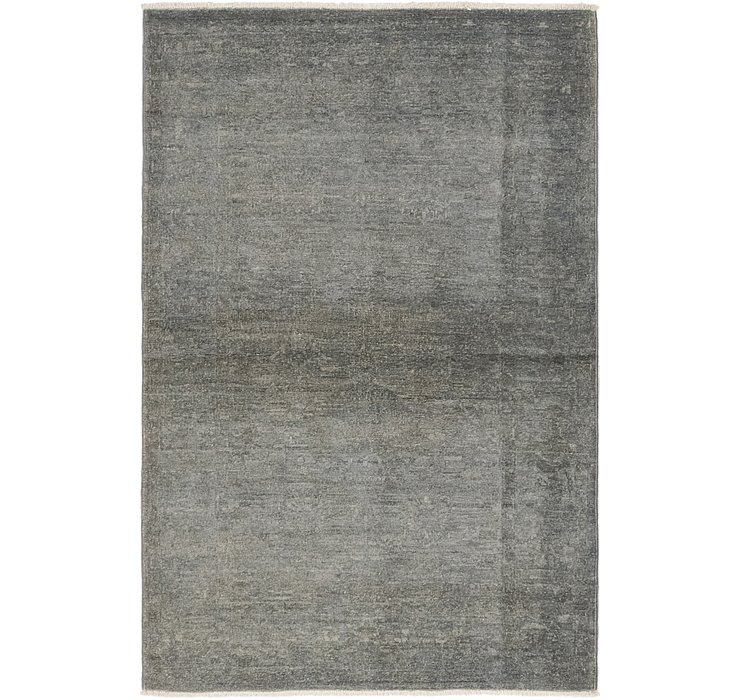 3' 2 x 5' Over-Dyed Ziegler Rug