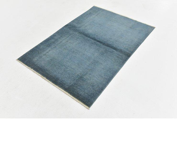 3' 3 x 4' 8 Over-Dyed Ziegler Rug