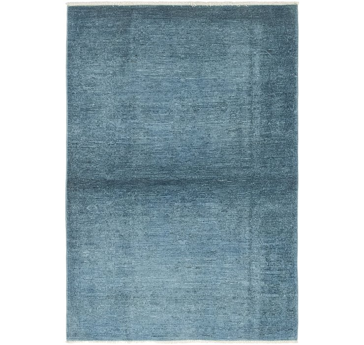 3' 3 x 4' 8 Over-Dyed Ziegler Rug
