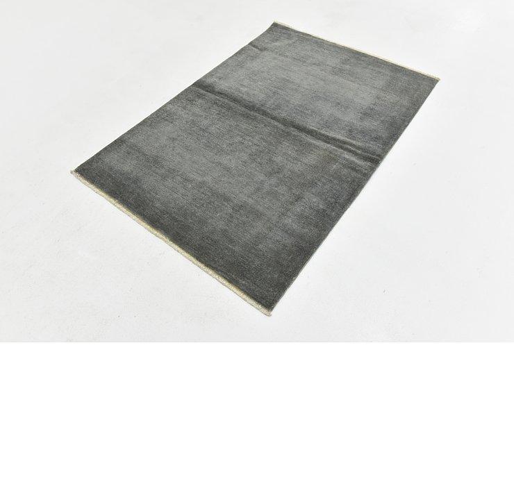 3' 4 x 4' 10 Over-Dyed Ziegler Rug