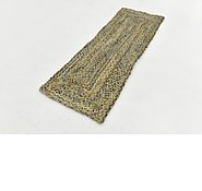 Link to 65cm x 183cm Braided Chindi Runner Rug