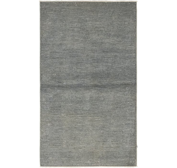 3' 1 x 5' 3 Over-Dyed Ziegler Rug