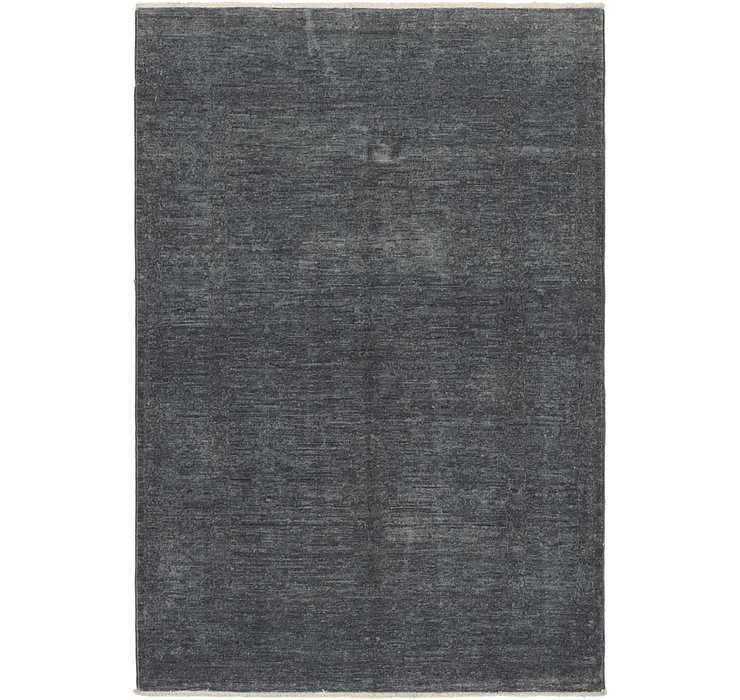 3' 4 x 5' Over-Dyed Ziegler Rug