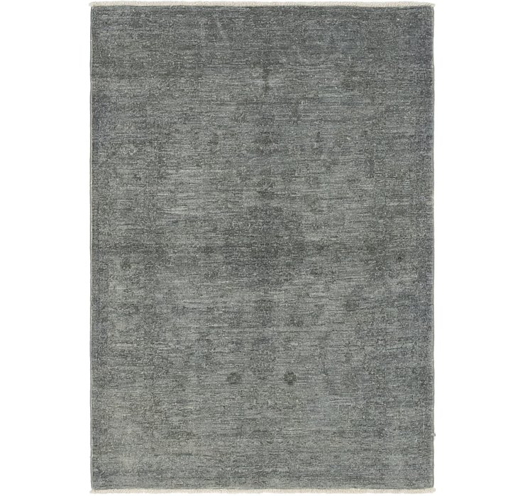 3' 1 x 4' 8 Over-Dyed Ziegler Rug