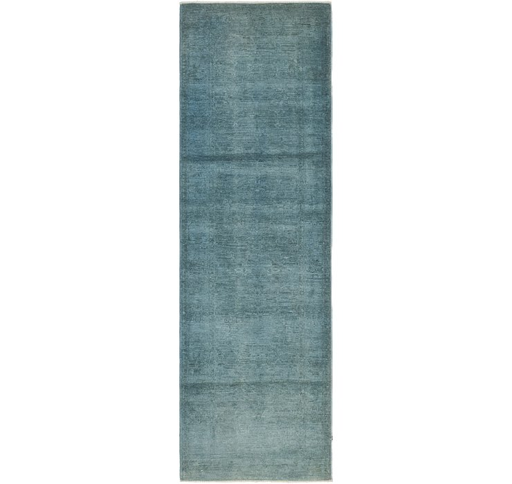 2' 7 x 8' 5 Over-Dyed Ziegler Runne...
