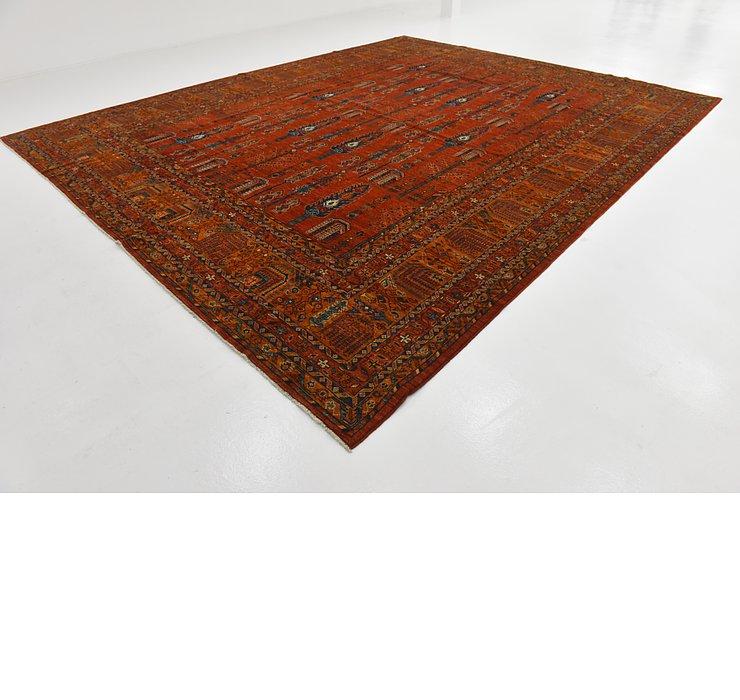 12' x 14' 9 Kazak Oriental Rug