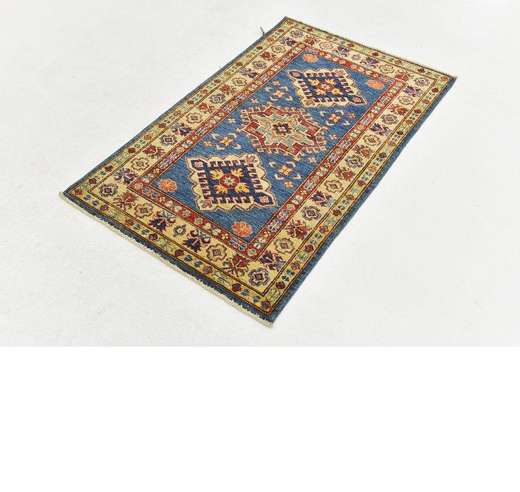 2' 6 x 4' 1 Kazak Oriental Rug