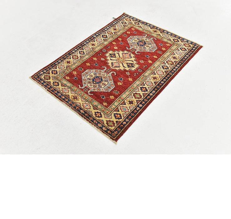 3' x 4' Kazak Oriental Rug