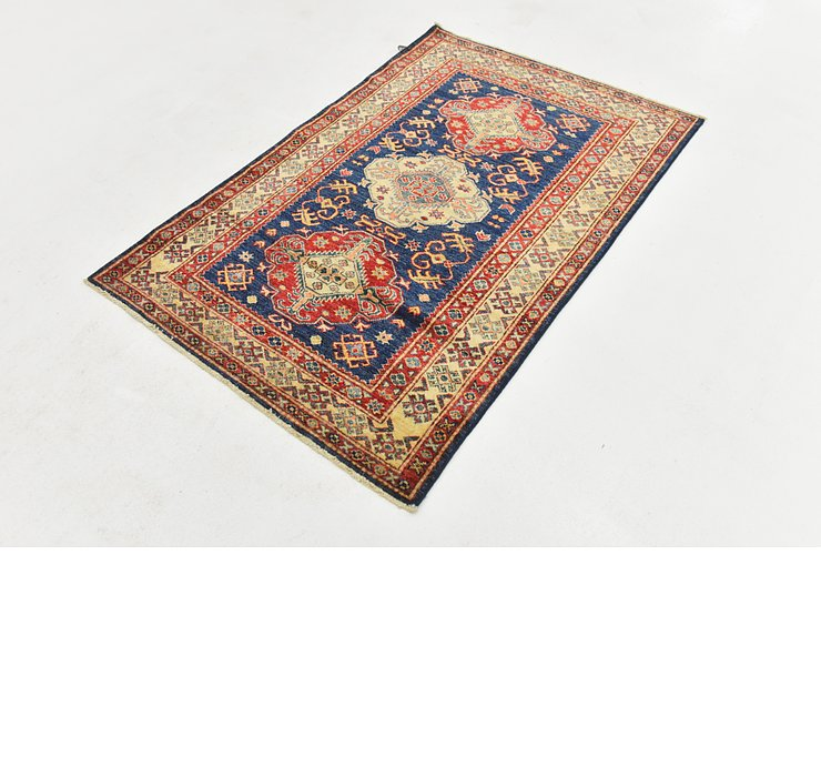 3' 4 x 5' Kazak Oriental Rug