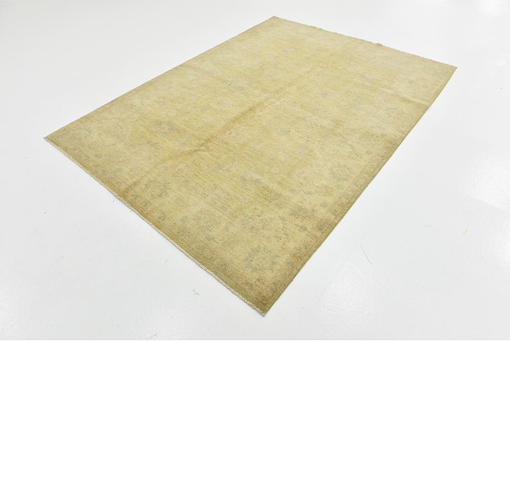 5' 7 x 7' 6 Over-Dyed Ziegler Rug