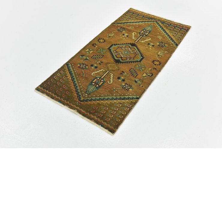 2' 3 x 4' 5 Ultra Vintage Persian R...