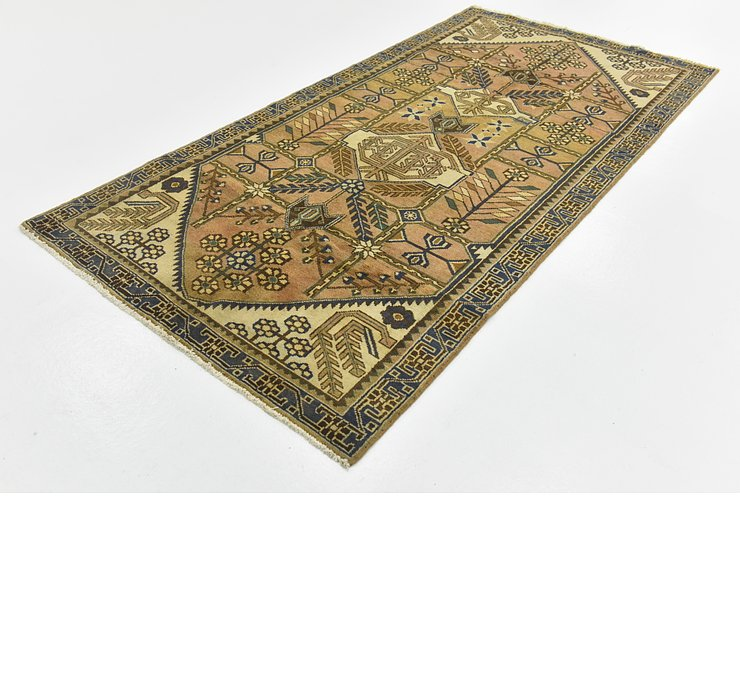 3' 8 x 7' 5 Ultra Vintage Persian R...