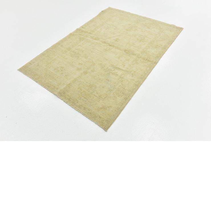 4' x 5' 9 Over-Dyed Ziegler Rug