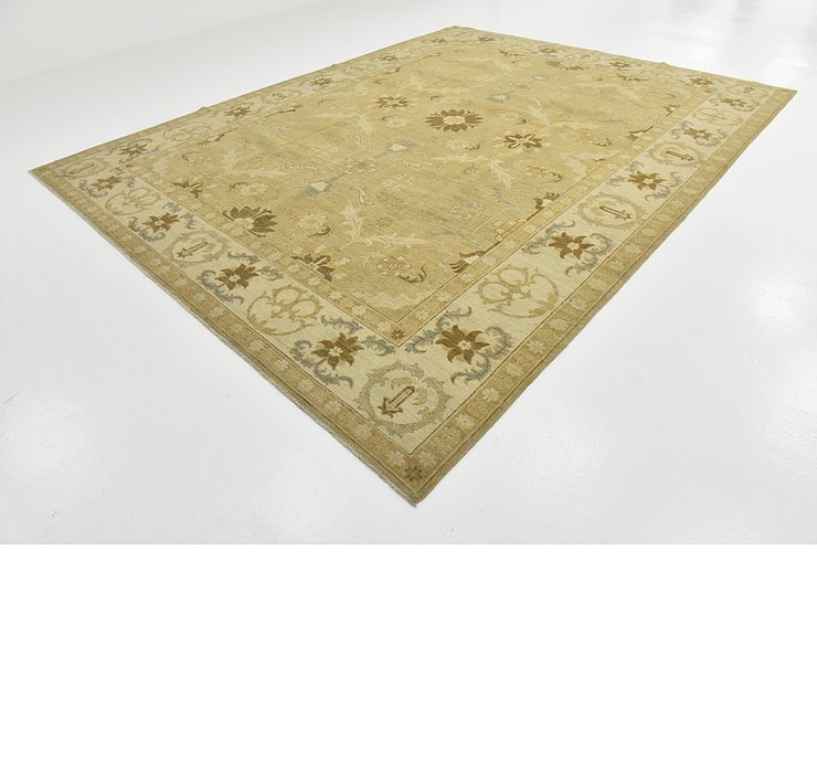 10' x 12' 10 Over-Dyed Ziegler Rug
