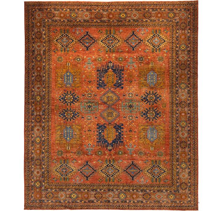 410cm x 493cm Kazak Oriental Rug