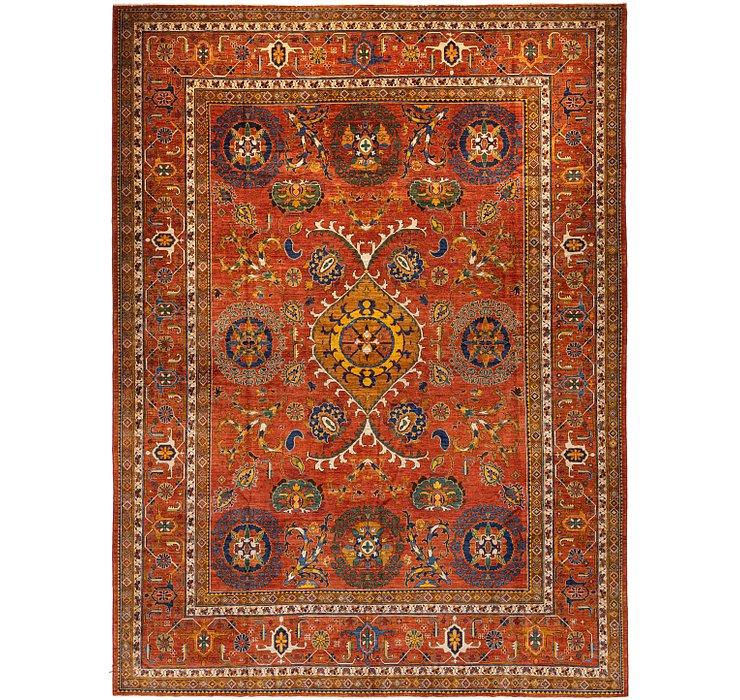 390cm x 518cm Kazak Oriental Rug