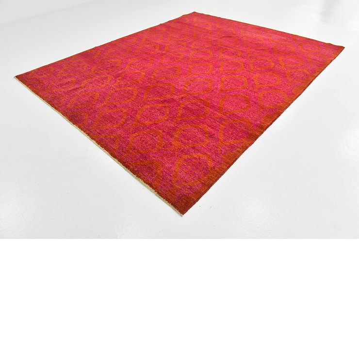 8' 2 x 10' 2 Over-Dyed Ziegler Rug