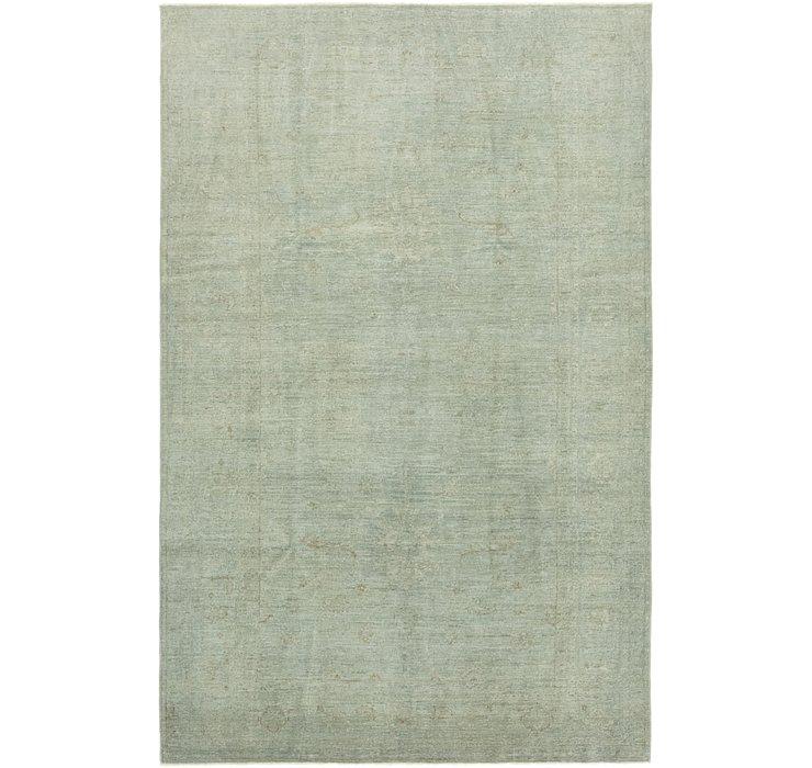 198cm x 310cm Over-Dyed Ziegler Rug