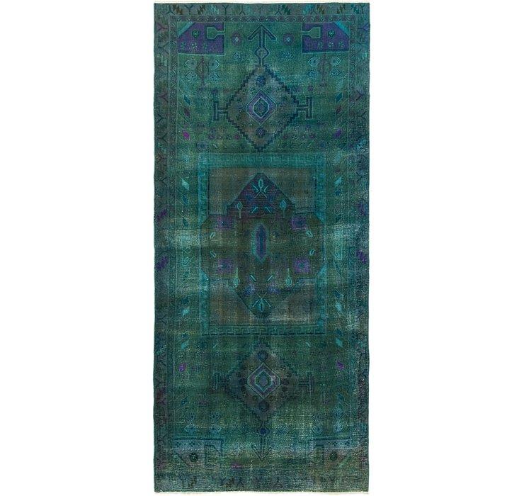 4' 1 x 9' 8 Ultar Vintage Persian R...