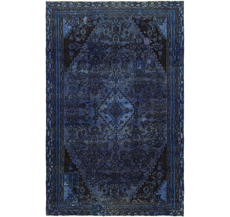 5' 8 x 8' 10 Ultra Vintage Persian Rug