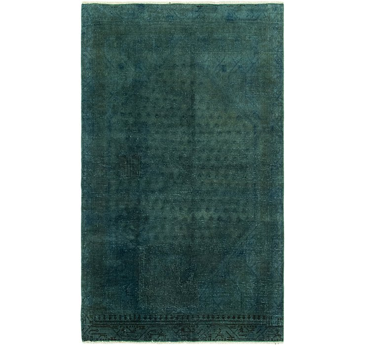 112cm x 185cm Utlta Vintage Persian Rug