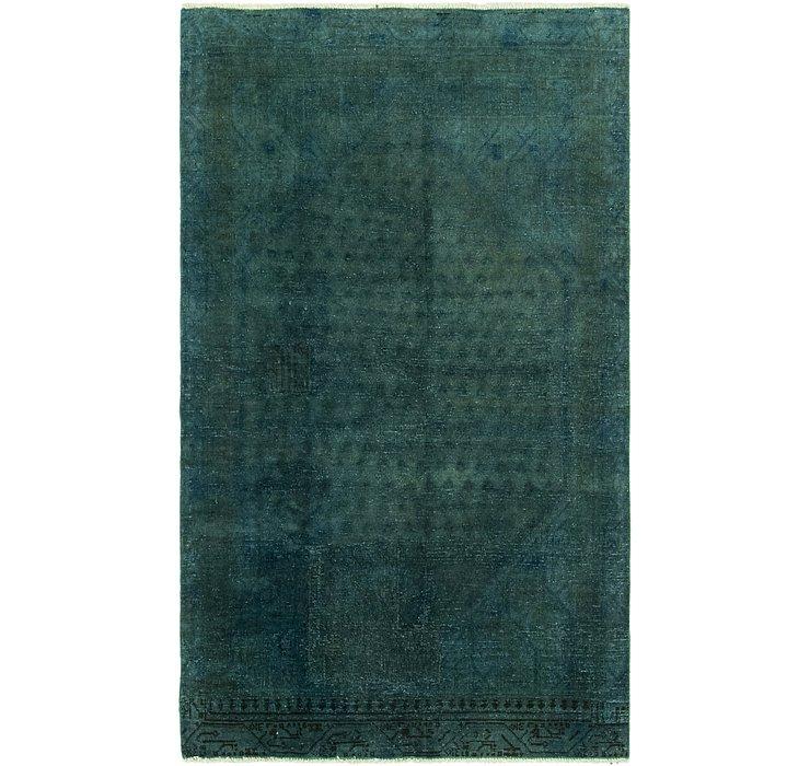 3' 8 x 6' 1 Utlta Vintage Persian Rug