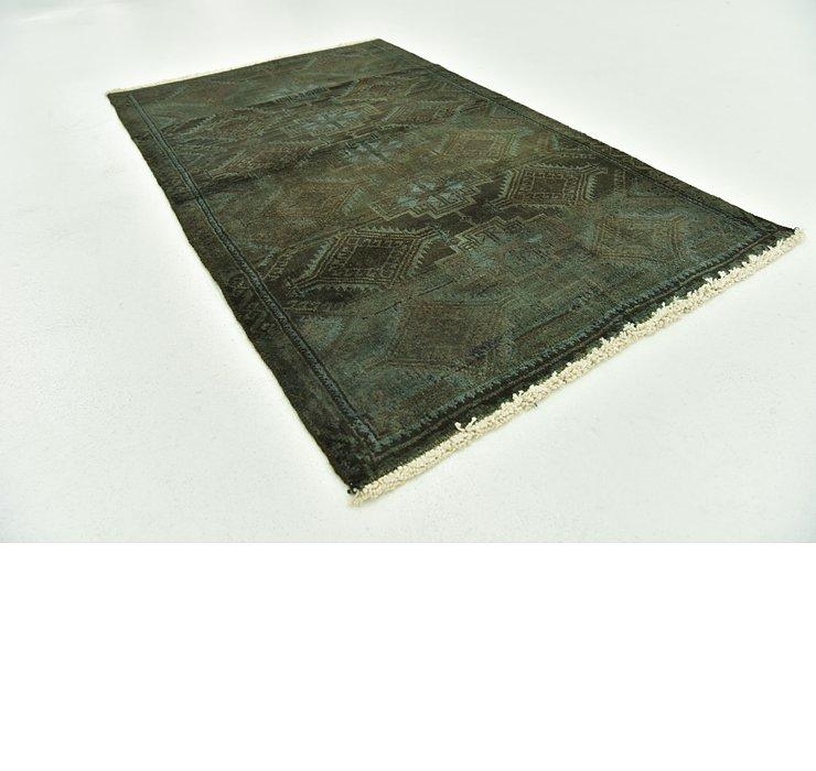 2' 3 x 3' 8 Ultra Vintage Persian Rug