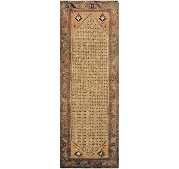 110cm x 335cm Ultra Vintage Persian R...