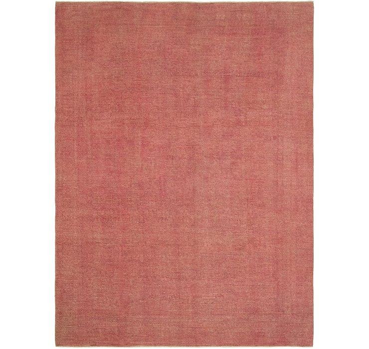 8' 8 x 11' 5 Over-Dyed Ziegler Rug