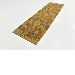 Link to 90cm x 297cm Kilim Maymana Runner Rug item page