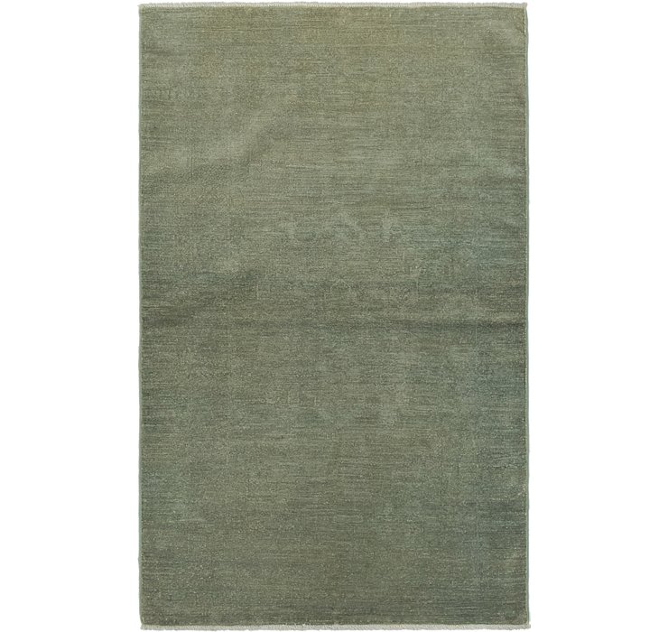 3' 3 x 5' 2 Over-Dyed Ziegler Rug