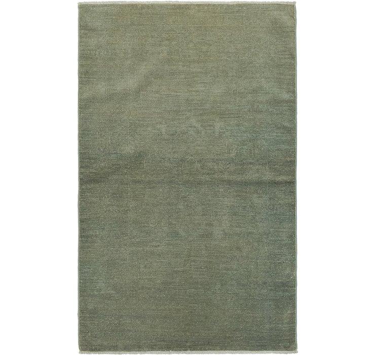 100cm x 157cm Over-Dyed Ziegler Rug